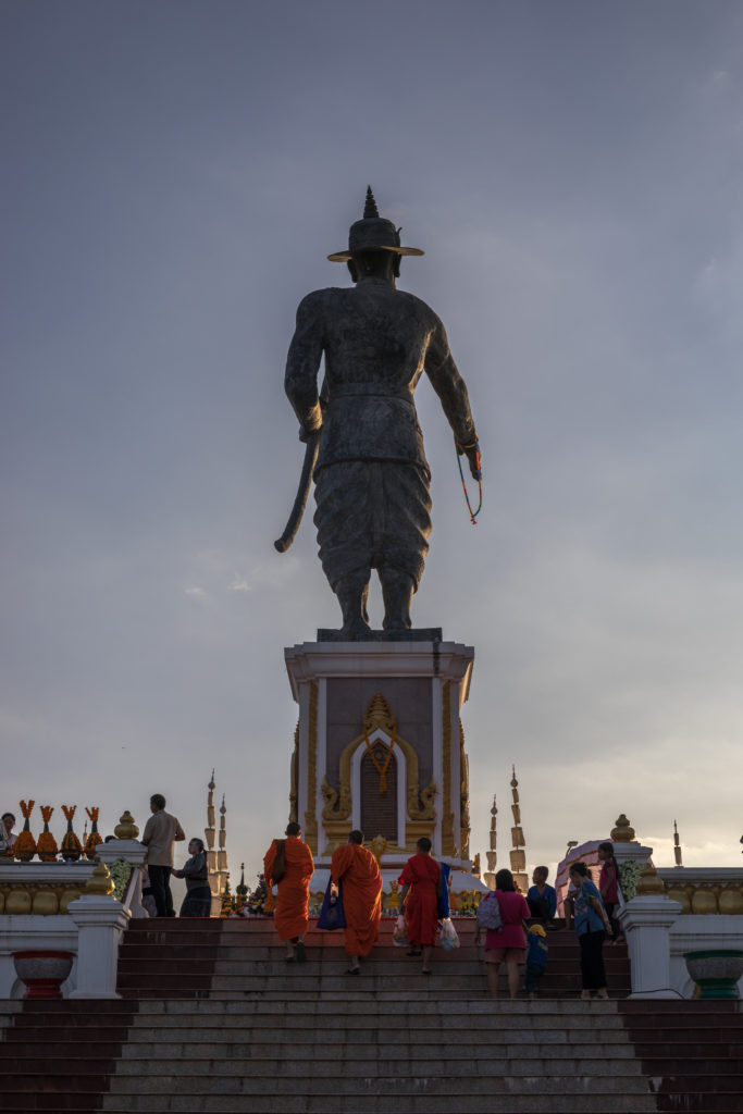 Chao Anouvong Statue Vientiane Laos Chao Anouvong Park
