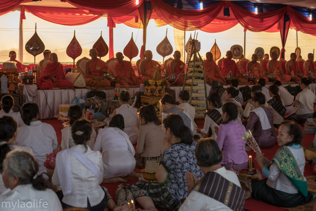 Chao Anouvong Statue Ceremony Vientiane Laos