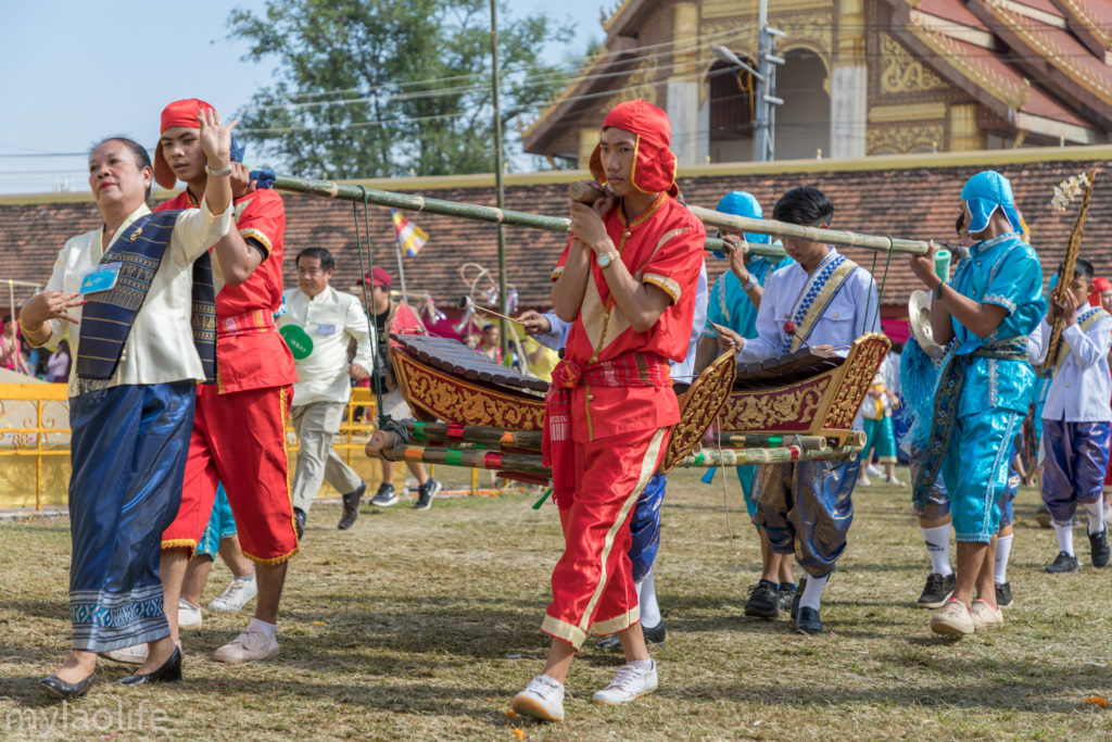 That Luang Festival Vientiane Laos culture traditional music