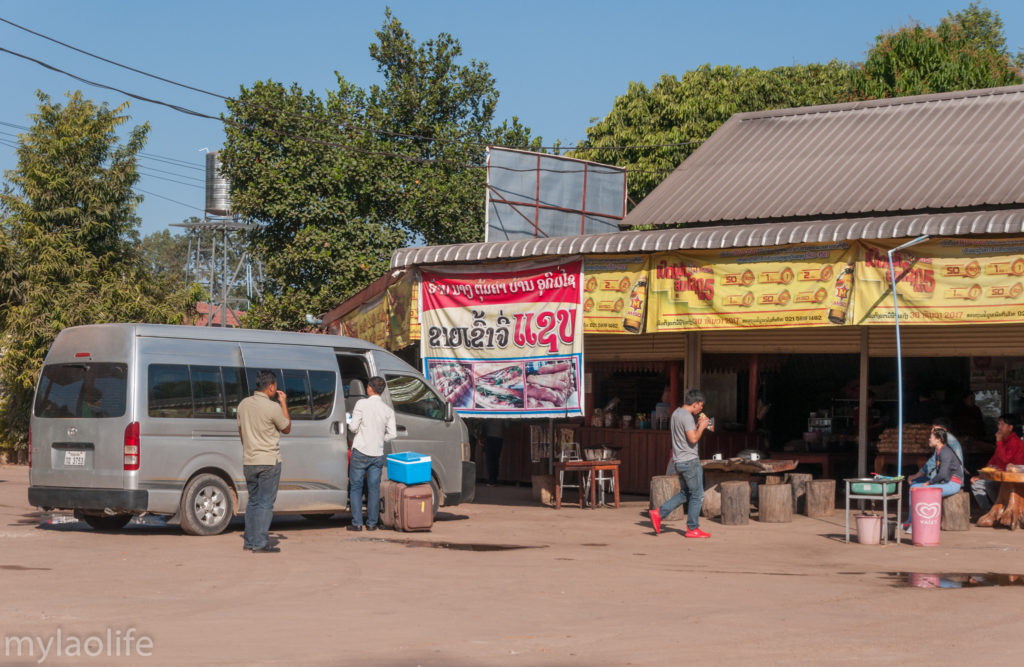 Driving Vientiane to Konglor Cave Tha bok Khammouane Laos