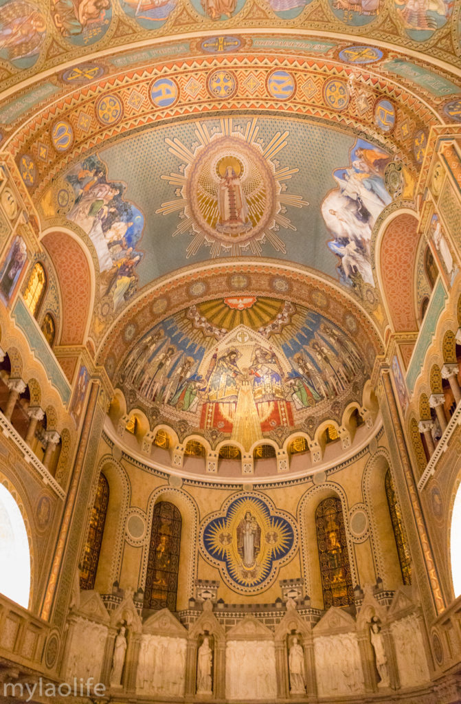 Szeged Votive Church Hungary Dom Square Cathedral interior frescos a life without borders