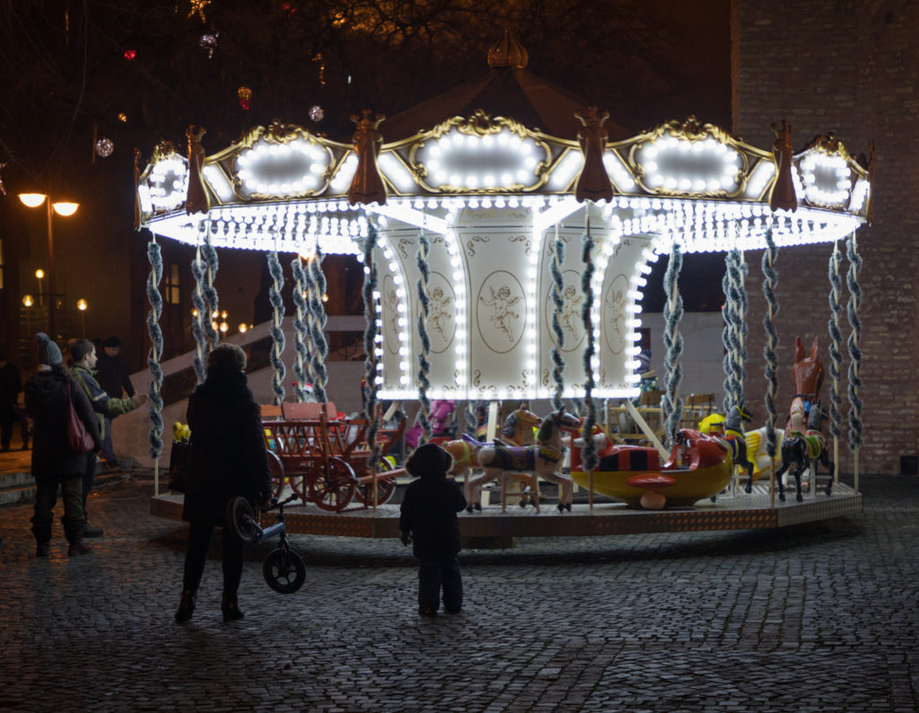 Szeged Christmas markets Dom Ter Hungary carousel a life without borders