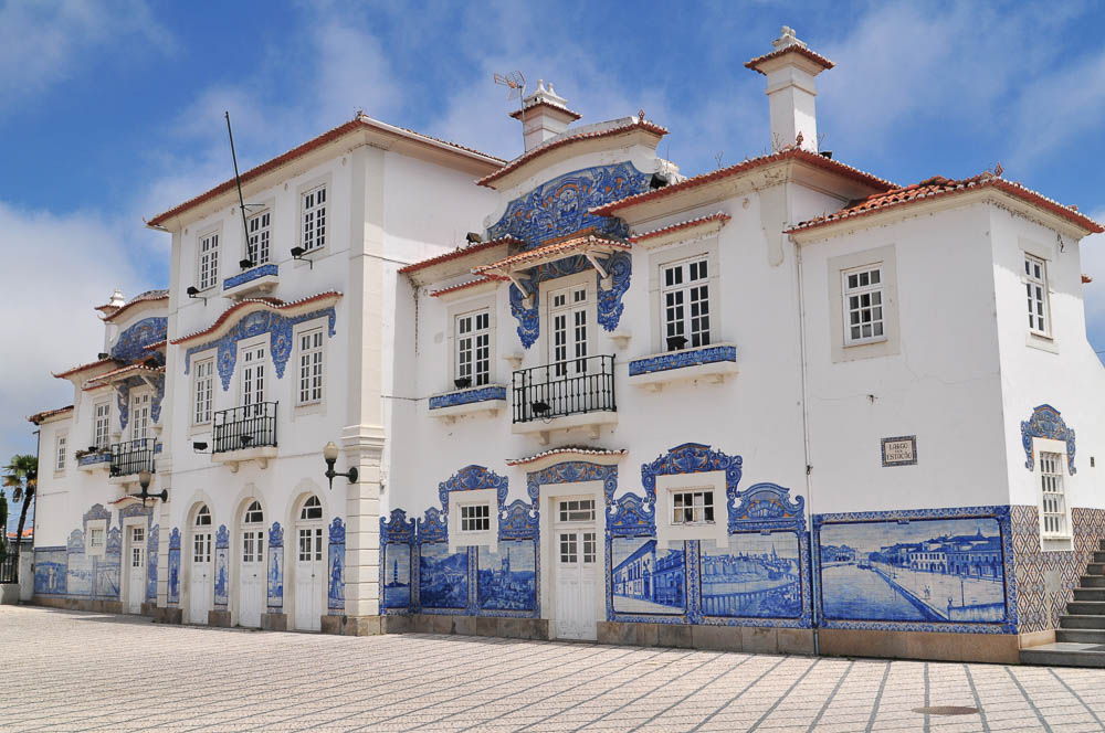 The old train station in Aveiro
